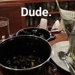Moules et Frites paired with Ommegang's Motueka Hennepin
