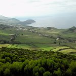 A view of the Azorean coastline.