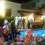 BBQ party in lolas hotel was the best experience of delicious food and friendly time with the ot
