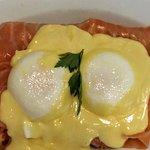 eggs benedict royal at Patisserie Valerie