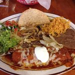 El Llano combination platter