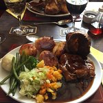 Sunday lunch doesn't come much better than this. Book early to avoid disappointment!