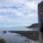 Castle ruin 2 mins away