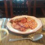 lovely breakfast (my sister's )