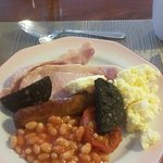 lovely breakfast  (mine)