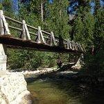 Bridge over South Fork Kings River at Woods Creek