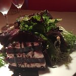 Roasted beet stack