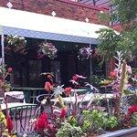 Lovely patio & garden at La Fresca