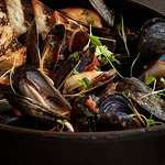 Aromatic Mussels at Westend Bistro