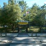 Entree van het park