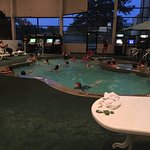 They also have a pool table and video games