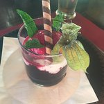 Amarillo Steakhouse - selbstgemachter frozen Joghurt