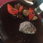 Amarillo Steakhouse - Dry Aged 180 Gr Steak mit gegrilltem Gemüse
