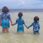 Girls love the beach!