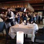 Ruth's Chris Bar view from a booth along far north wall