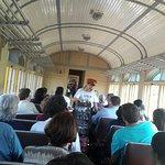 dentro trem