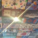 Ceiling with Art!