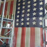 33 star flag from early statehood