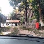Foto da área de estacionamento