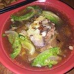 Beef noodle soup, YUM !
