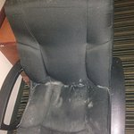 Chair with mold/mildew