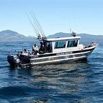 Brawny Silver Streak fishing boat