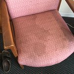 DISGUSTING stains on chair