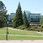 UBC Library shaped like an open book