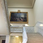 Main staircase in Maryland State Capitol building