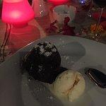 Lækker Bomba desert på La sera, som blev bestilt et par gange ;-)