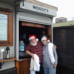 a stop and a drink near the beach at......Woody's coffee shop