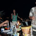 Club Seafood Jimbaran Beach Cafe Foto