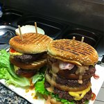 Super burgers maison!!! Et surtout un grand choix..