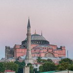 View from the roof top. Hagia Sofia