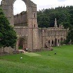 Les murs de l'abbaye