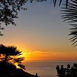 Dîner - coucher de soleil