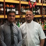 Owner/chef and son.