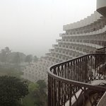 Taken from our balcony during spectacular downpour