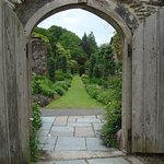 Walled garden from one entrance