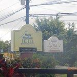 Hotel signage