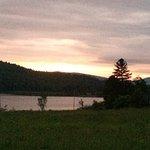 The beautiful lake at sunset!