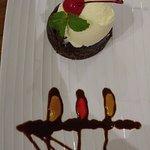 dessert presentation! Impressive.