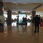 Lobby of the hotel. A very nice entry!