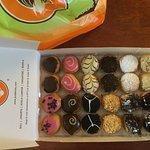 24 baby donut tasting box