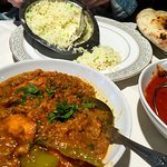Full meal- great Naan