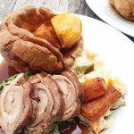 Sunday lunch - pork belly option