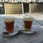 Уютное место для чаепития...