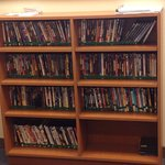 DVDs to borrow to kill time in the room!
