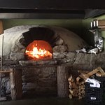 The brick oven at Flatbread Hanover