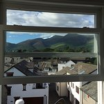 A room with a view. Well hello Skiddaw!!